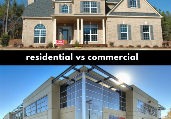 residential house, open house, commercial building